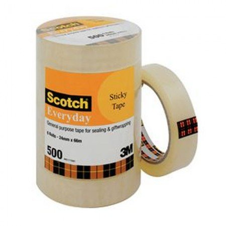 SCOTCH Transparent Tape 500LHB 7000040156 24mmx66m