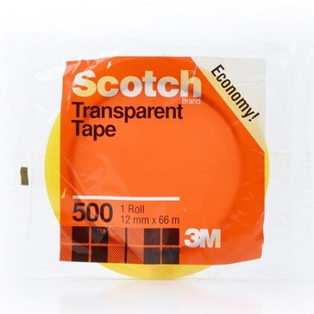 SCOTCH Transparent Tape 500MHB 7000040155 12mmx66m