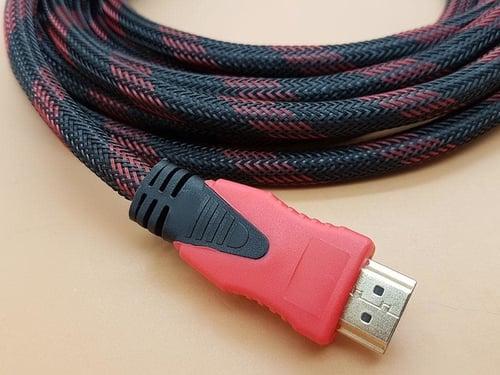 Kabel HDMI 3m Jaring HQ (Male HDMI to Male HDMI)