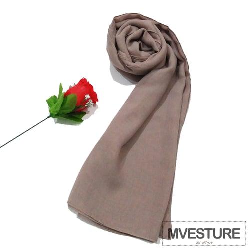 Poly Cotton Segi Empat High Premium -Poly Cotton- Jilbab Hijab Milo