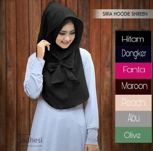 Hijab Instan SIRIA HOODIE SHIREEN Jilbab aneka corak Warna