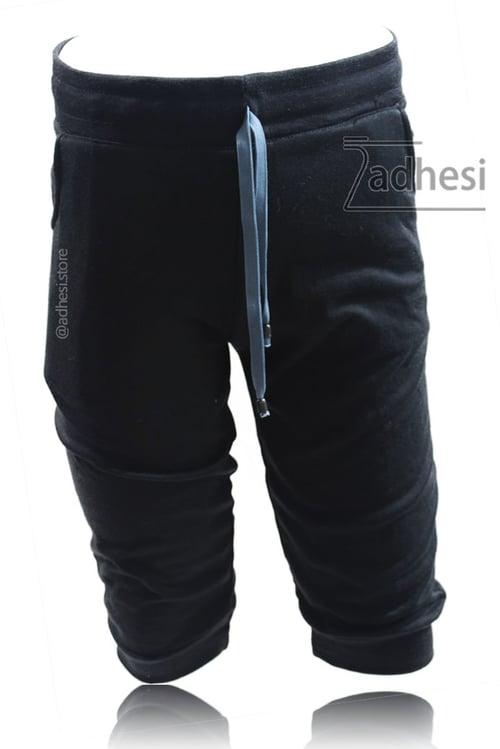 Celana Jogger Pendek Warna Hitam