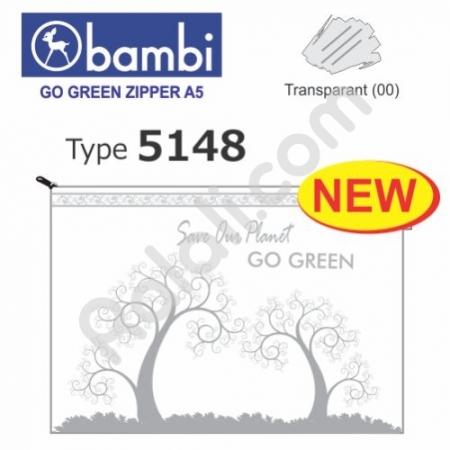 BAMBI Go Green Zipper 5148