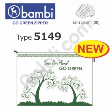BAMBI Go Green Zipper 5149
