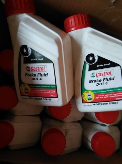 CASTROL BRAKE FLUID DOT4 500ML