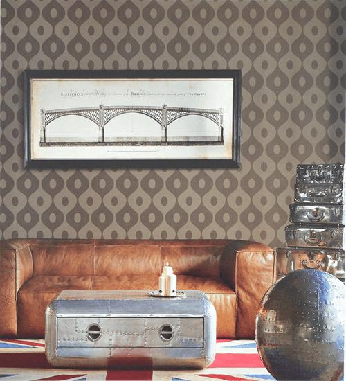 Wallpaper Dinding Motif Minimalist