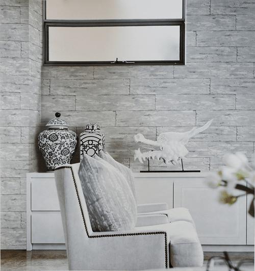 Wallpaper Dinding Motif Serat Kayu Terbaru