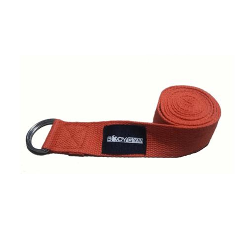 BODY GYM Yoga Strap 3.8cm x 180cm Import Orange ( BUY 1 GET 1 )