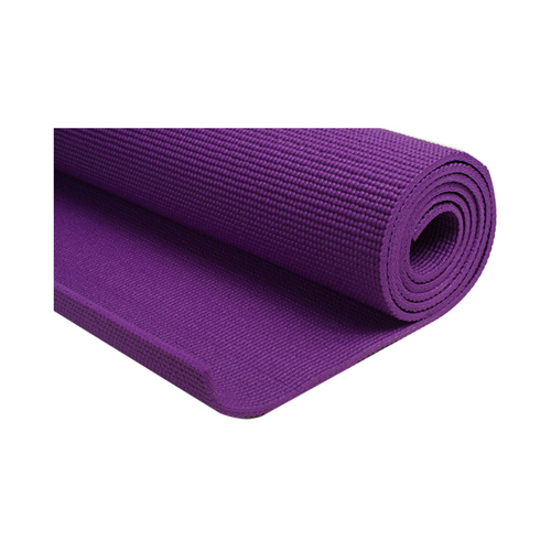 BODY GYM Yoga Mat 4mm PVC pls Sarung Ungu ( BUY 1 GET 1 )