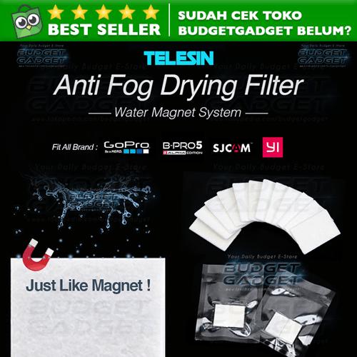 Anti Fog Drying Filter Insert for Xiaomi Yi & GoPro (12Pcs)