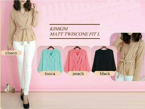 kimkim RO blouse wanita twiscont var color