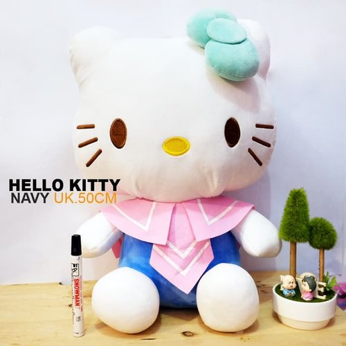 Boneka Hello Kitty Navy 50cm