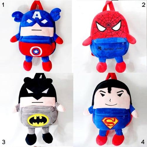 Tas Ransel Karakter Superhero S 28cm