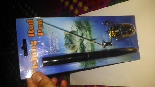 Alat Pancing Pena Pen Fishing Rod Set Tongkat Joran Ikan Portable Kit