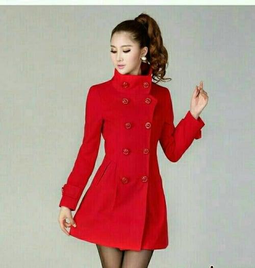 Baju coat blazer mantel wanita korea Rinata