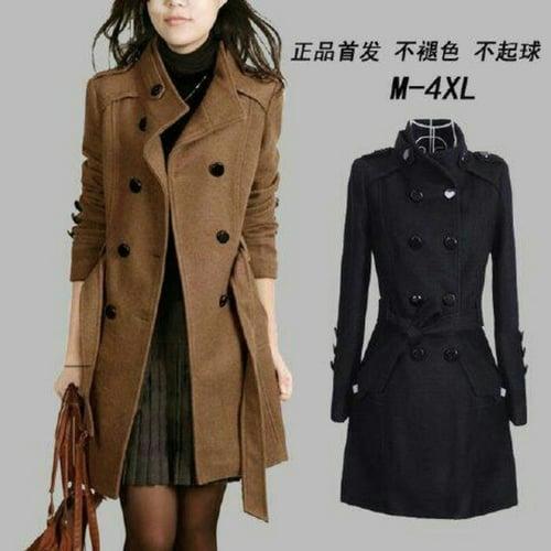 Baju jaket mantel korea Deandra blazer