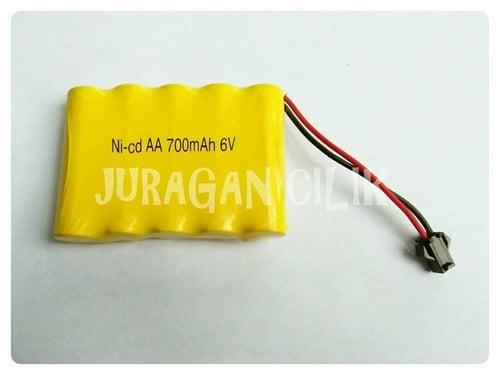 Baterai Mobil Remot Rc 6v 700mah