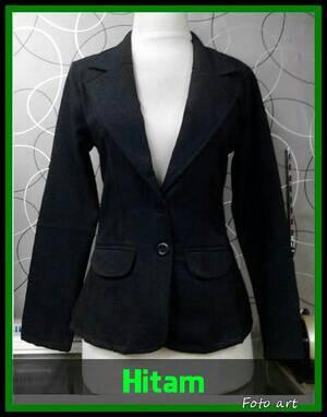 Blazer Wanita Kancing 2 / Blazer Formal / Bkazer Kerja