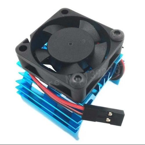 Heatsink Motor 540 550 Brushless 3650 With Fan 1/10