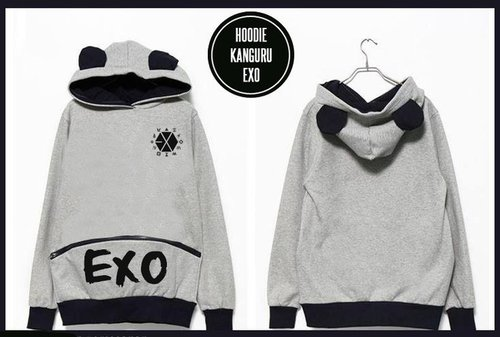 Hoodie Kangguru EXO