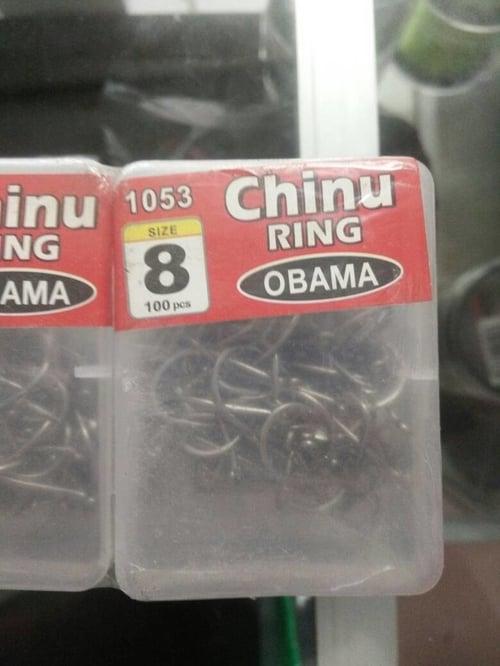 Hook obama isi 100pcs chinu no.8