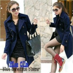 jaket/ coat/mantel korea 65-67/ blue beneton blazer