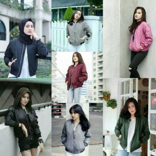 Jaket Bomber Parasut Despo Fashion Wanita