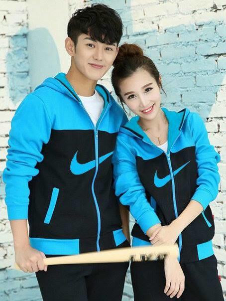 jaket couple Nike Turkis y3, harga sepasang