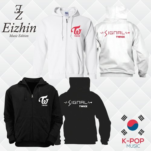 Jaket Twice Signal Eizhin K-pop Musice Edition