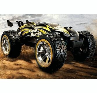 Land Buster Truggy 2.4ghz Rc 1/12