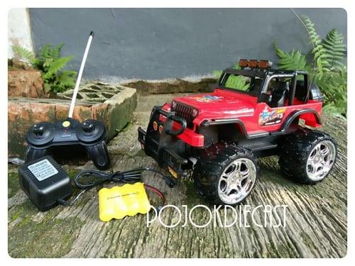 Mainan Mobil Remot Jeep Offroad