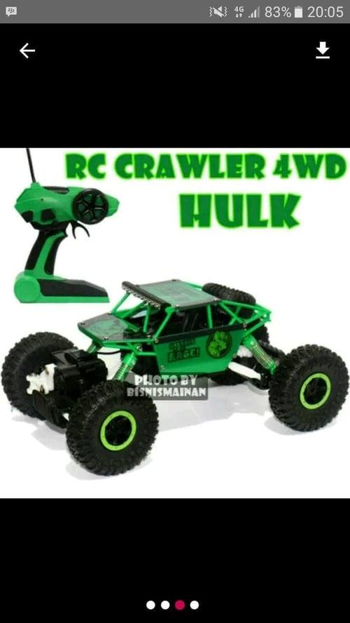 Mainan Mobil Remote Control Rock Crawlen