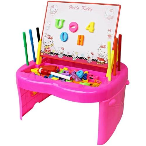 Meja Belajar Anak Hello Kitty