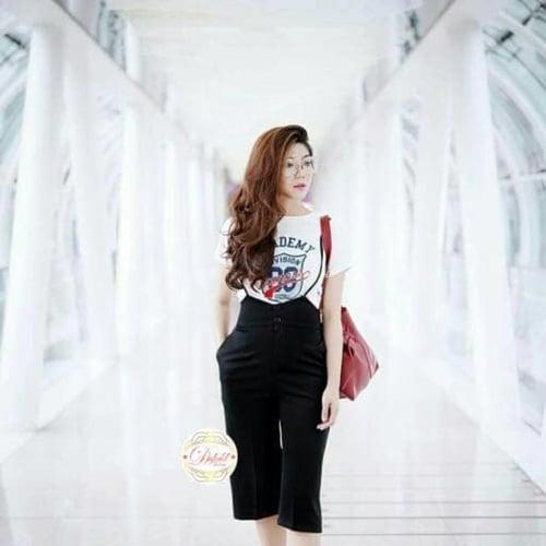 Premium Button Suspender/Jual Jumpsuit Outerwear /Vest/Celana Kekinian