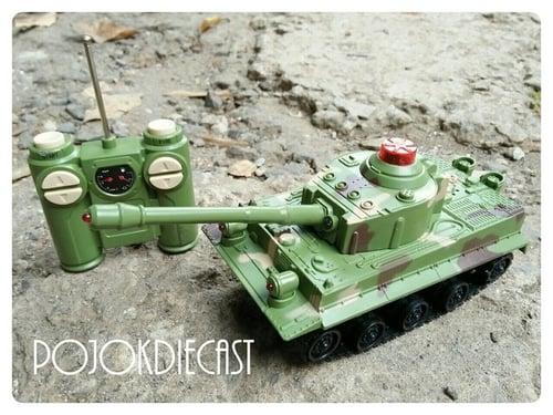 RC Battle Tank Kecil