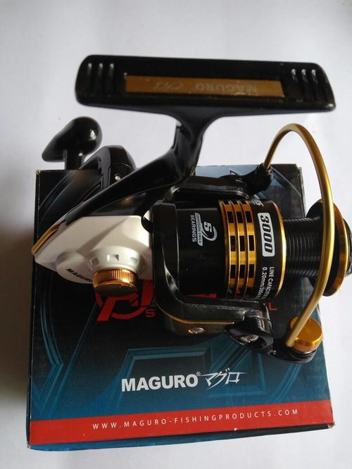 Reel Maguro Avenger 3000, Ultra Smooth 5 Bearings