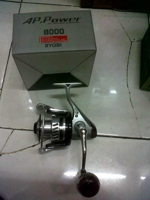 Reel Ryobi AP POWER II 8000
