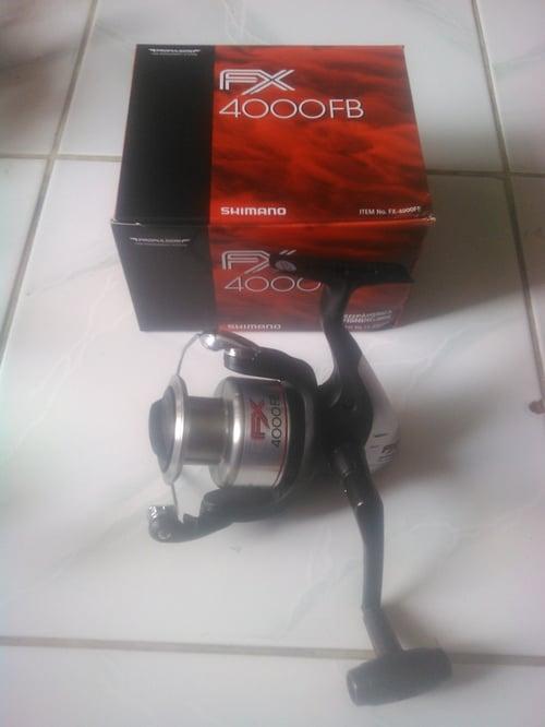 reel shimano FX 4000 FB