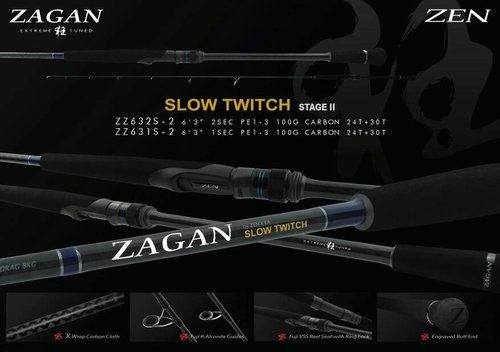 Rod Zen Zagan Slow twitch pe1-3