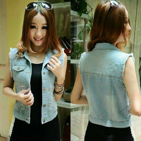 rompi jeans washed 2