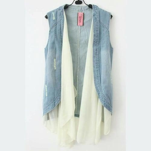 Vest Layer Jeans kode DM.1130