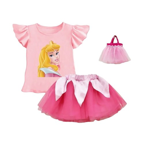 Lil Rose Princes Pink Plus Bag Pink Med