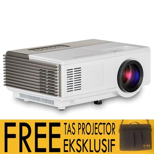 Proyector Mini LED TJ600 TJ600D TV Tuner Free Tas Projektor