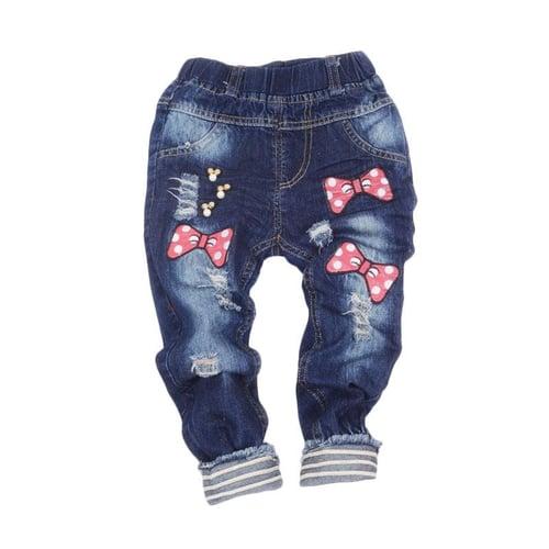 GBS Minnie Ribbon Jogger Jeans Celana Panjang