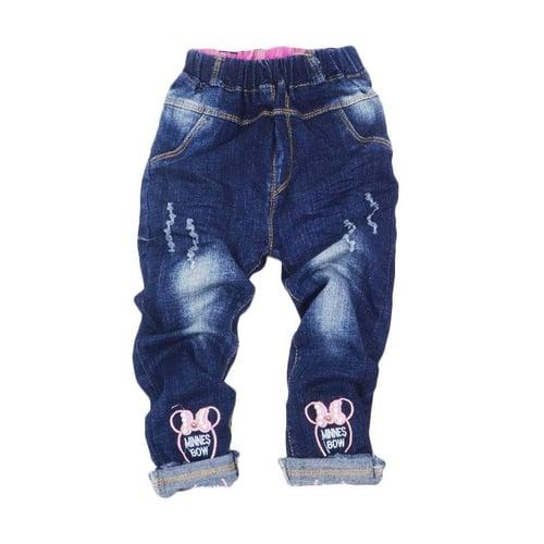 GBS Minnies Bow Pearl Jeans Celana Anak