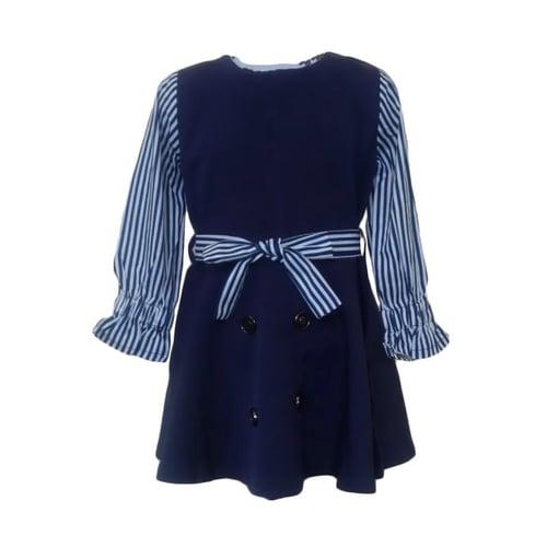 GBS Salur Long Sleeve Dress - Navy