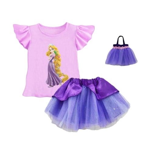 Lil Rose Stelan Rapunzel Purple Plus Bag
