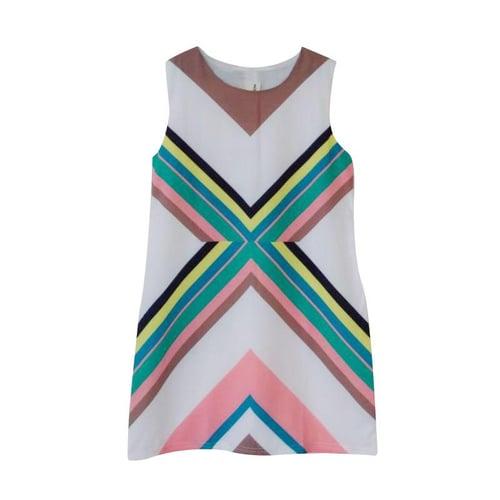 Mitun Semi Salur Sleeveless Dress Anak - Multicolor
