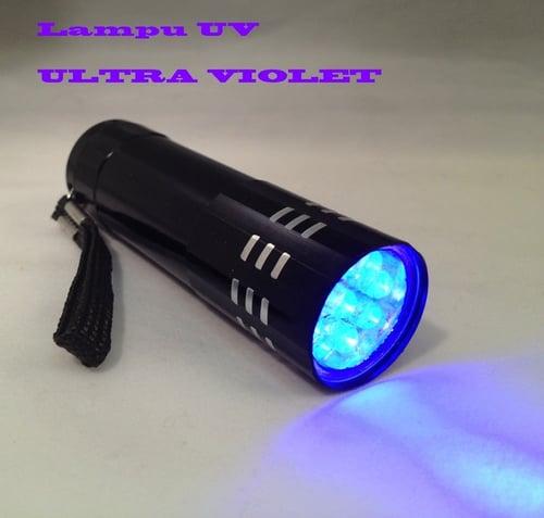 Lampu Senter UV Ultra Violet