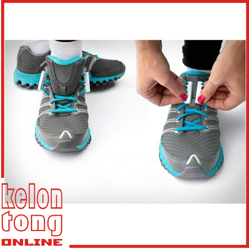 Universal Magnetic Sport Shoelaces - Tali Sepatu Magnet - Multiwarna